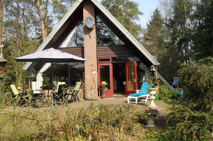 Te huur; leuk vakantiehuis voor zes peronen nabij Eersel.