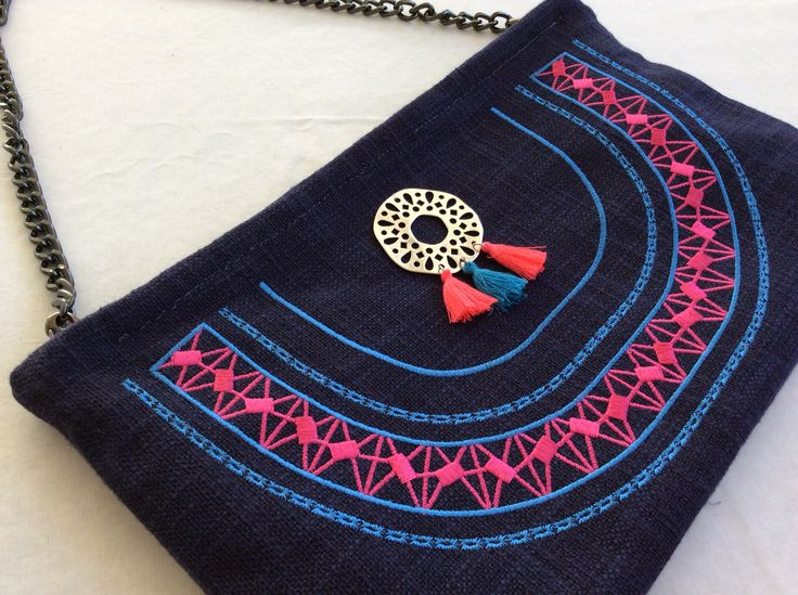 Handmade bag Christina Malle... Boho