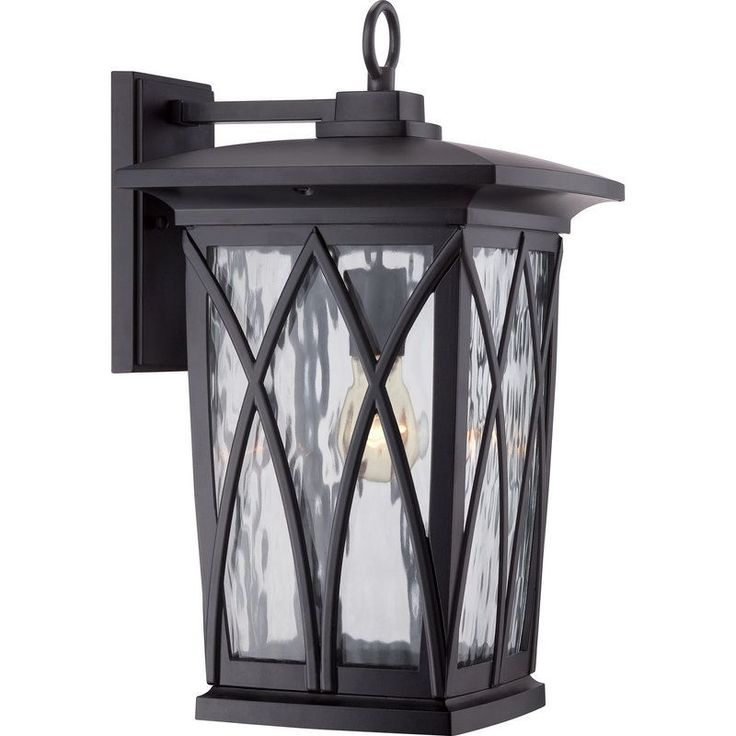 View the Quoizel GVR8410 Grover 1 Light Outdoor Wall Sconce at LightingDirect.com.