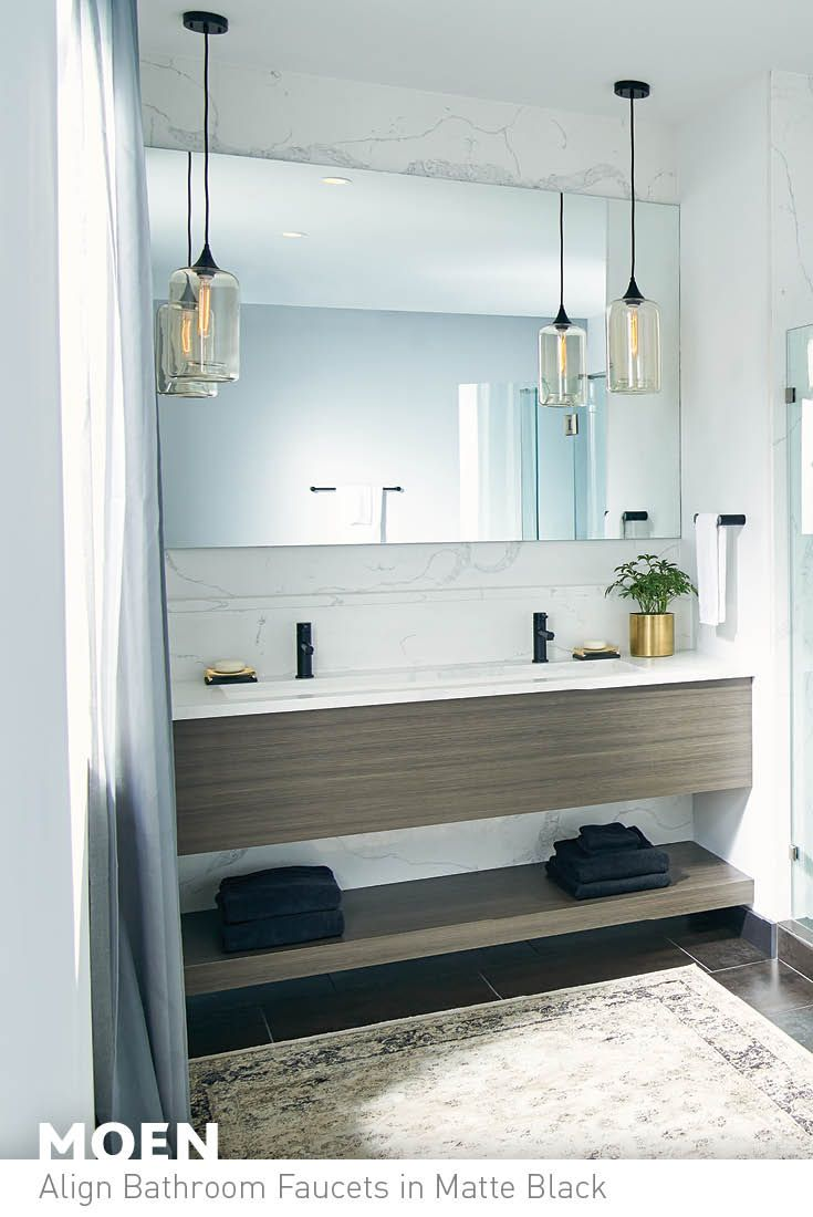 22 best Matte Black images on Pinterest | Master bathroom, Master ...