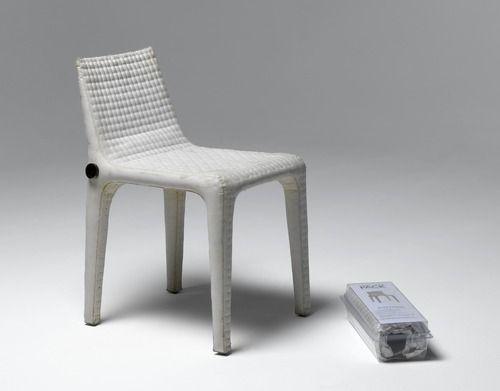 Chaise Pack de François Azambourg créée en 2002