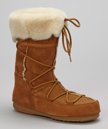Take a look at this Whiskey Vagabond Boot - Women by Moon Boot The Original on #zulily today!