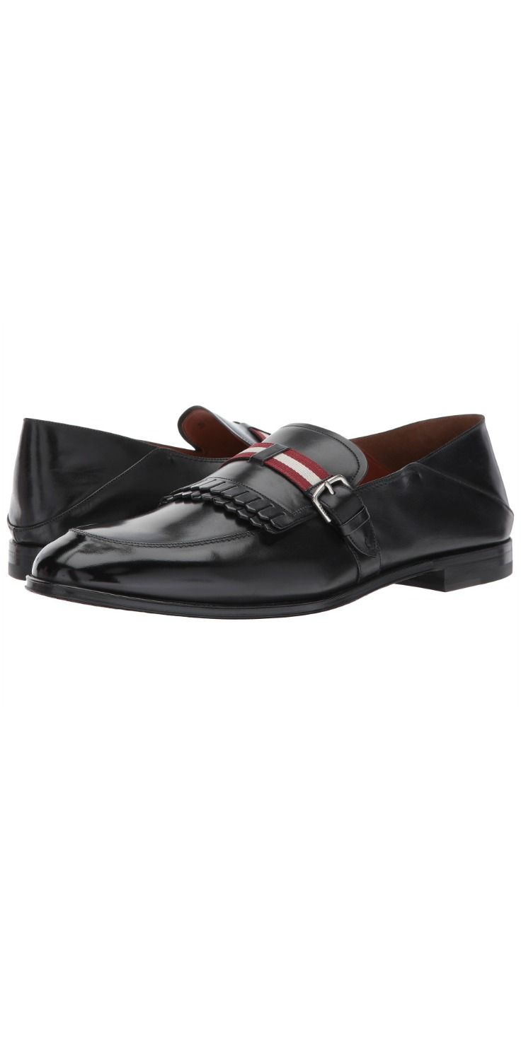 Promote yourself.  Dress to impress by stepping into a leading role wearing the #Bally Welky #Dress #Loafer.  #men #footwear #shoes #loafers