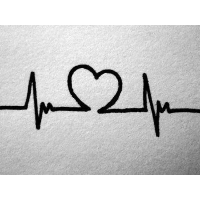 Heartbeat. I want this tattooed on me but with the space needle outline instead of the heart