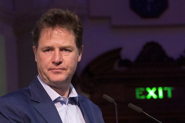 It's Official: Nick Clegg Has Received A Knighthood In The New Year's Honours List