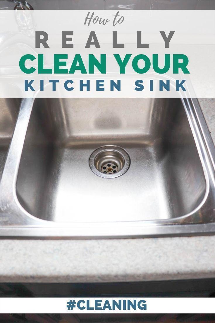 Best Thing To Clean Kitchen Sink