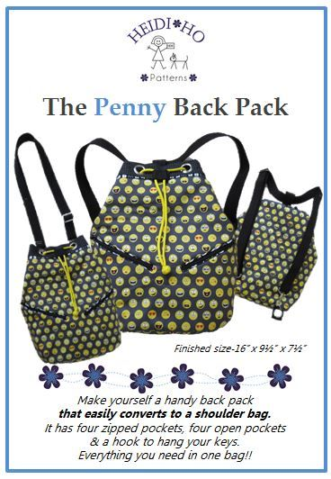 A fantastic bag that you can either use as a back pack or sling it over your shoulder & away you go!!