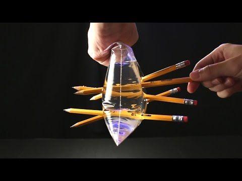 10 expériences fascinantes autour des liquides