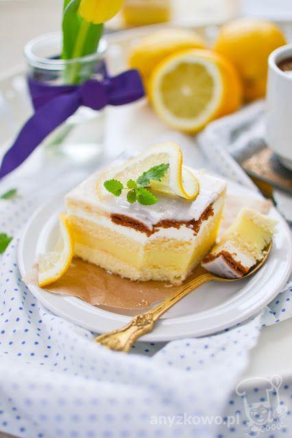Anyżkowo: Ciasto cytrynowe