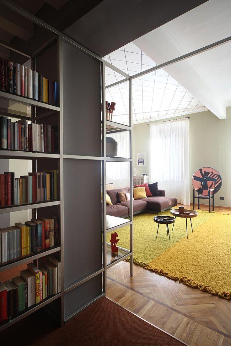 Cozy apartments interior - An Italian Apartment Renovated In A Retro Style Cozy Apartmentapartment Interiorindustrial