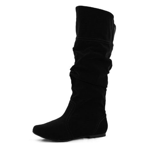 black boots no heel