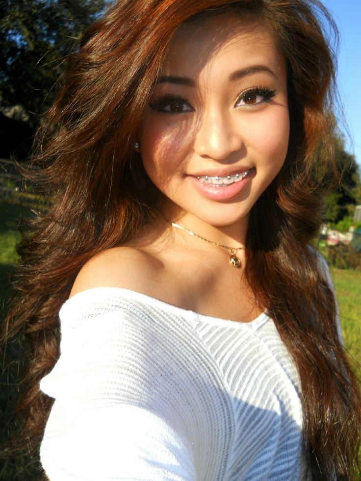 Pretty Asian Girl With Braces Http Babeswithbraces Com