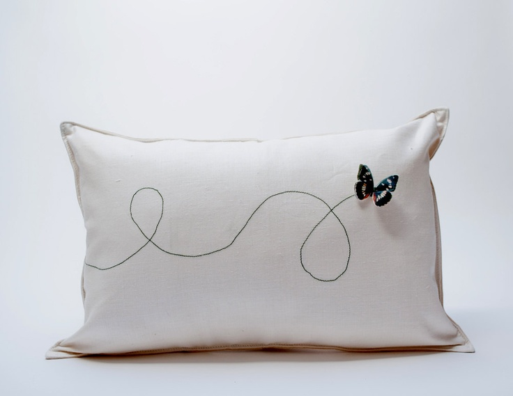 butterfly pillow. from pilosale, via Etsy.