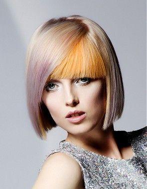 medium blonde solid color multi-tone