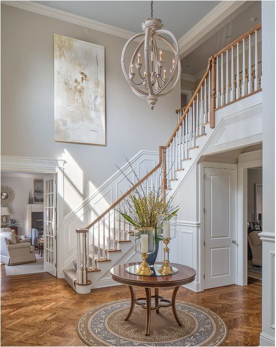 Best 25 two story foyer ideas on pinterest 2 story for 2 story foyer chandelier