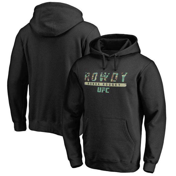 Ronda Rousey UFC Siege Pullover Hoodie - Black