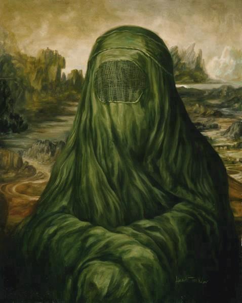 La Joconde façon muslim - Meme