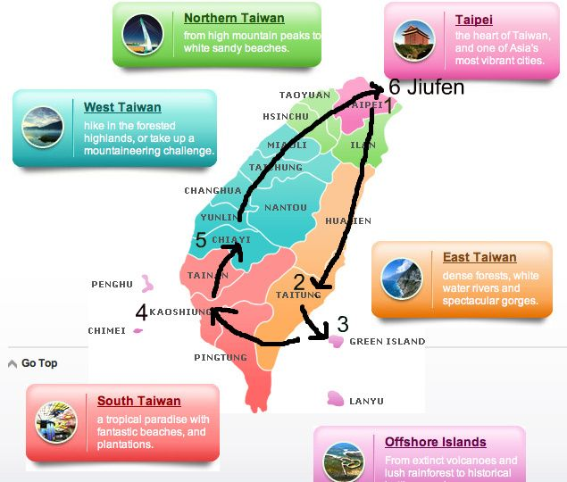 how to travel from taipei to hualien