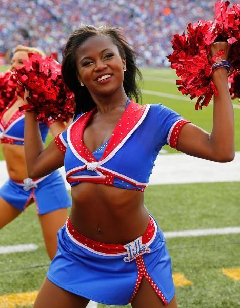 Buffalo bills cheerleaders