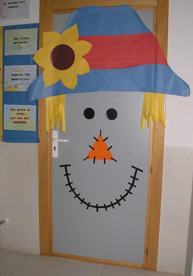 Puerta oto o 2014 de la clase de infantil del colegio de for Decoracion de puertas infantiles