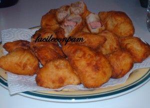 panini fritti ripieni con provola tonno e wuster