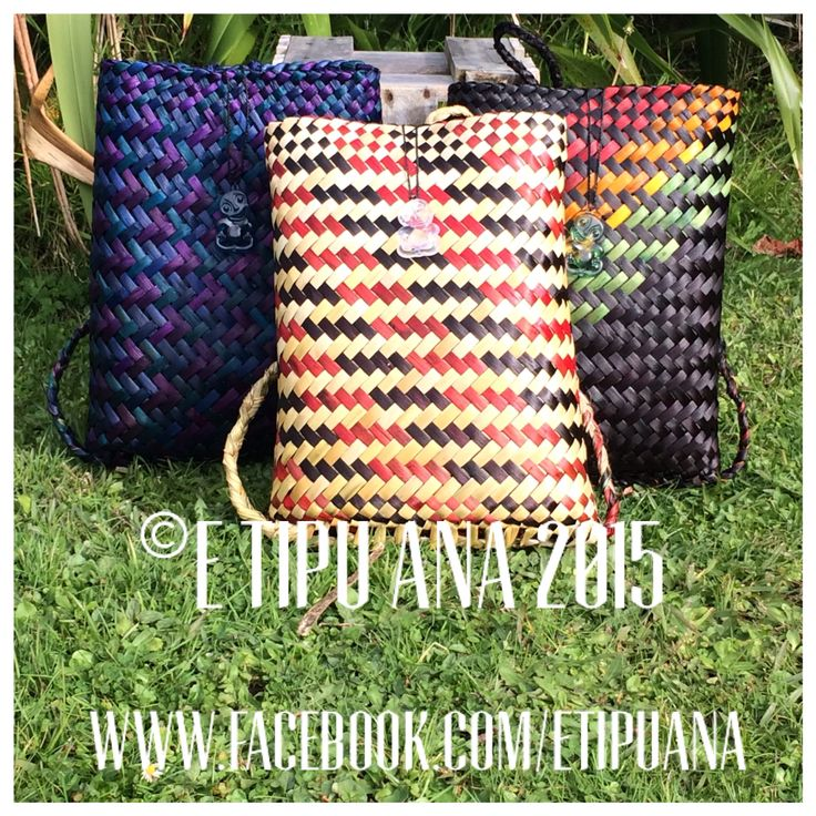 #etipuana_pikau Hand woven by julz and em @ E Tipu Ana out of New Zealand harakeke (flax)