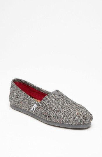 Free shipping and returns on TOMS 'Classic - Karsen' Slip-On (Women) at Nordstrom.com. Subtle color updates a classic slip-on outfitted with a soft leather footbed and durable rubber sole.