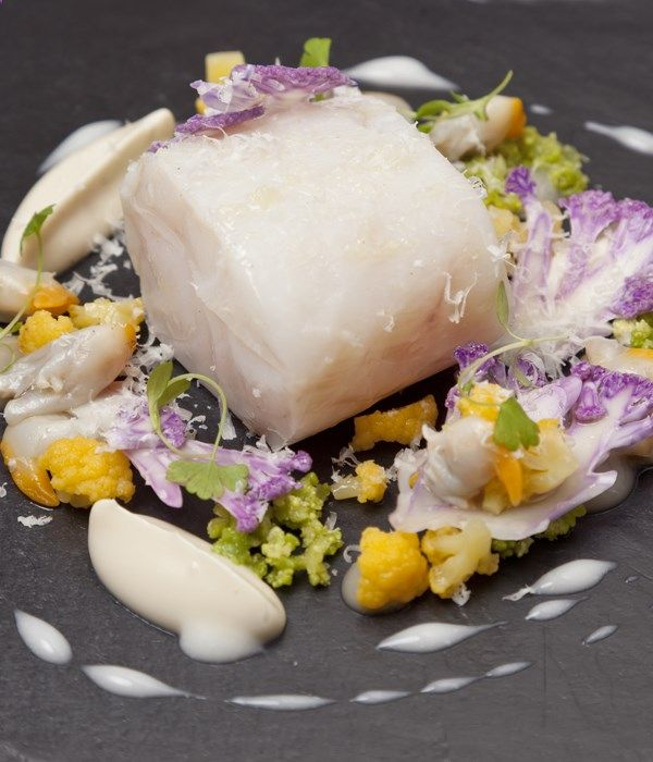 This confit pollock recipe from Nigel Mendham makes a scintilating starter to serve up for the most extravagant of dinner parties.