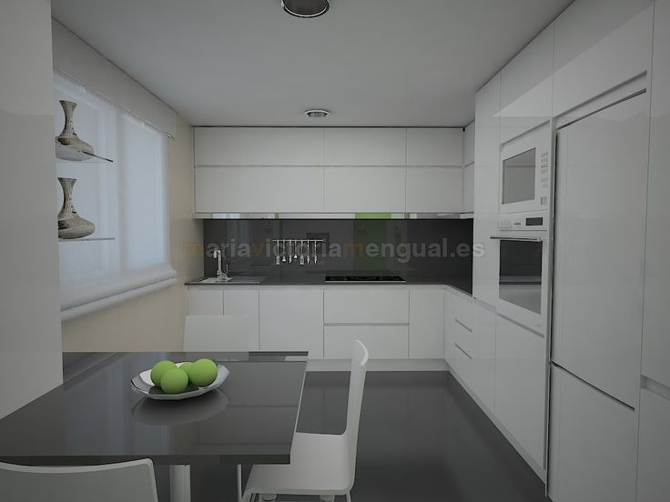 Mejores 33 imágenes de cocina en Pinterest | Cocina blanca, Cocinas ...