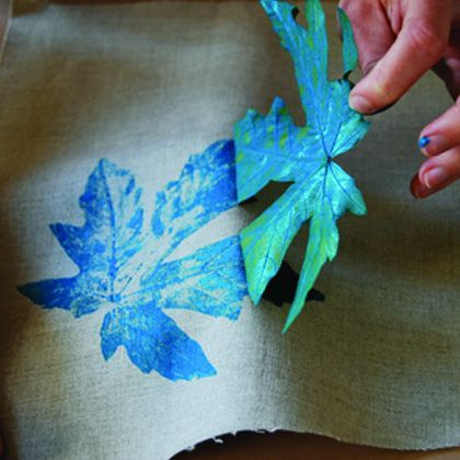 Teen Tink can't wait to try Leaf-Printing!