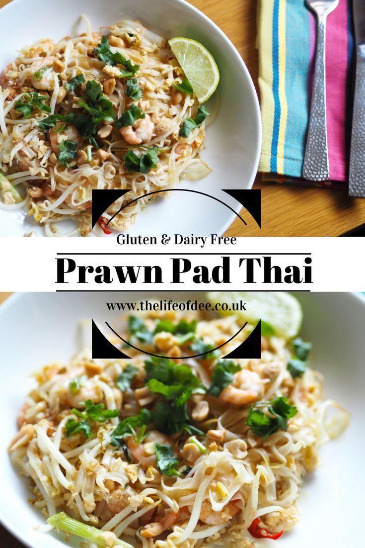 Prawn Pad Thai Food Prawn Recipes Seafood Recipes