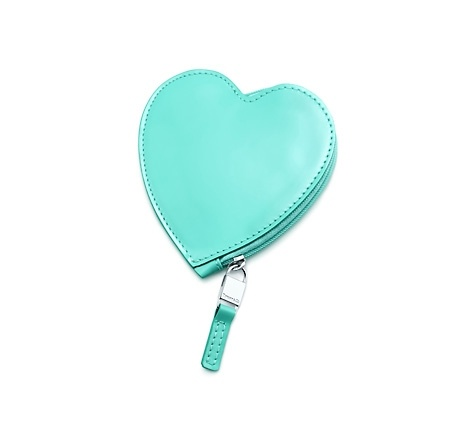 Tiffany & Co.   Item   Heart coin pouch in Tiffany Blue® patent leather. More colors available.   United States