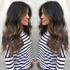 2017's Biggest Hair Color Trend: Hygge #refinery29 http://www.refinery29.com/new-hair-color-trends#slide-2 Lee is responsible for this take, a slightly cooler — but still neutral in tone — version of aubrown. It's perfect for those with dark hair that can't be bothered with touch-ups. ...