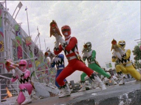 Power Rangers Lost Galaxy - Final Battle (Journey's End Episode)