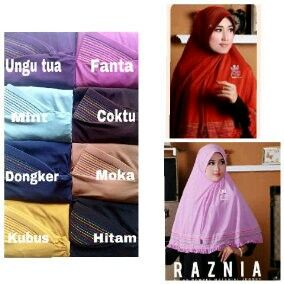 Hijab jersey rania idr. 65 exclude shipping