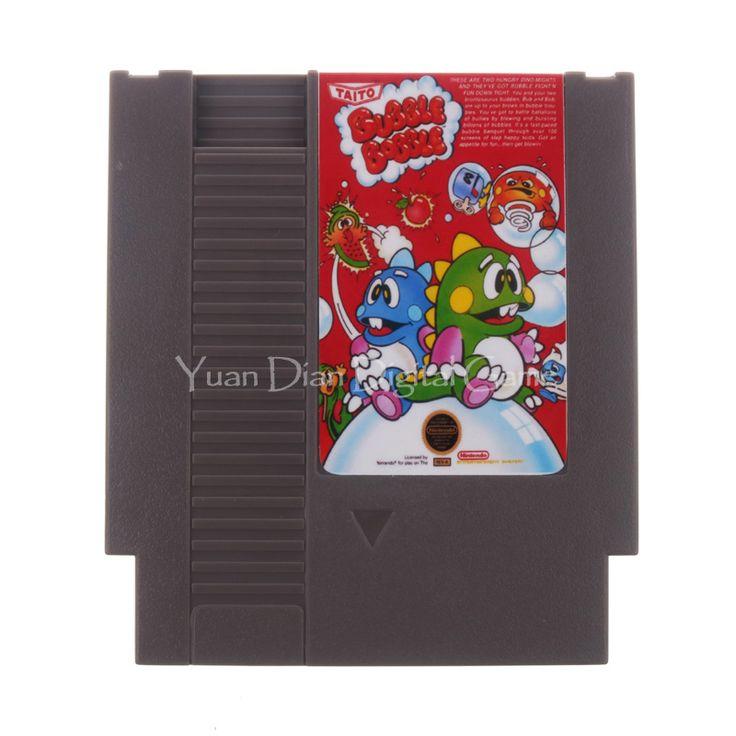 Nintendo NES Video Game Cartridge Console Card  Bubble Bobble English Language US/EU Universal Version #Affiliate