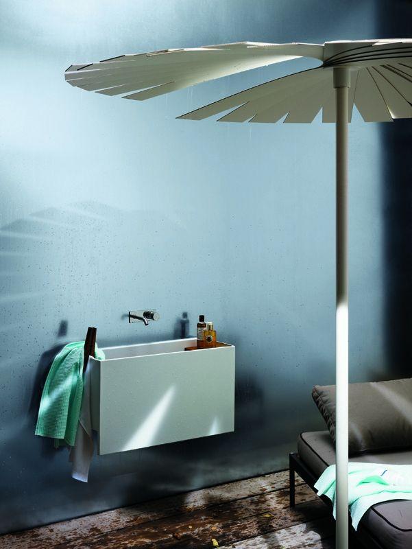 Square Washbasin Pool - Wash Basin Bathroom | Azzurra Ceramica S.p.A.