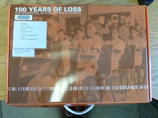 100 years of loss : the residential school system in Canada. by Legacy of Hope Foundation. (kit)