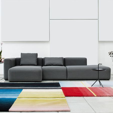 Mags #sofa by HAY is composed of modular units of different length. It can be designed to fit any room and need. Mags #sofa has a design philosophy behind that a sofa must have a simple design because it is visually dominant.