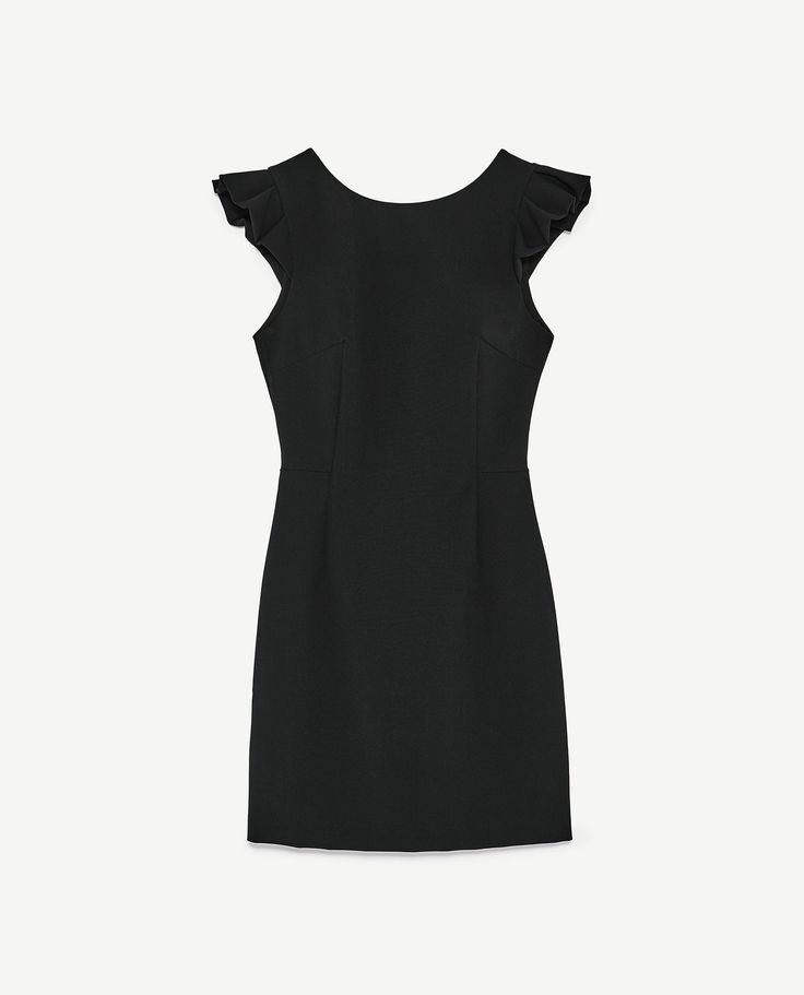 Image 8 of OPEN BACK DRESS WITH BOW from Zara