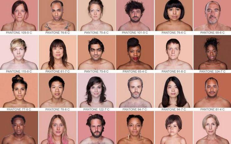 A fotógrafa brasileira Angelica Dass propõe uma nova paleta, baseada nas cores do Pantone