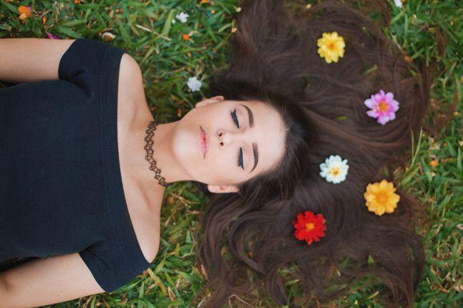 foto-com-flores-no-cabelo