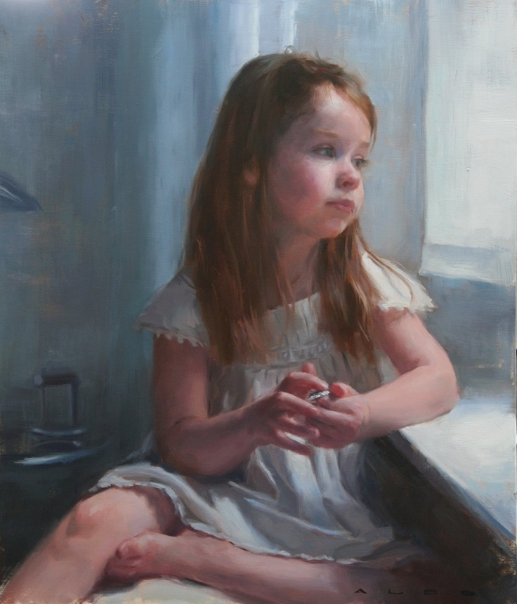 Aldo Balding - Olivia  daydream by the window