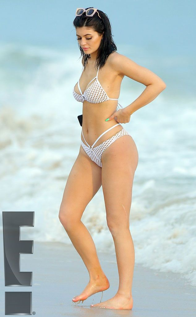 cb52f80e62 Kendall and Kylie Jenner Saddle Up in Bikinis While on Vacay