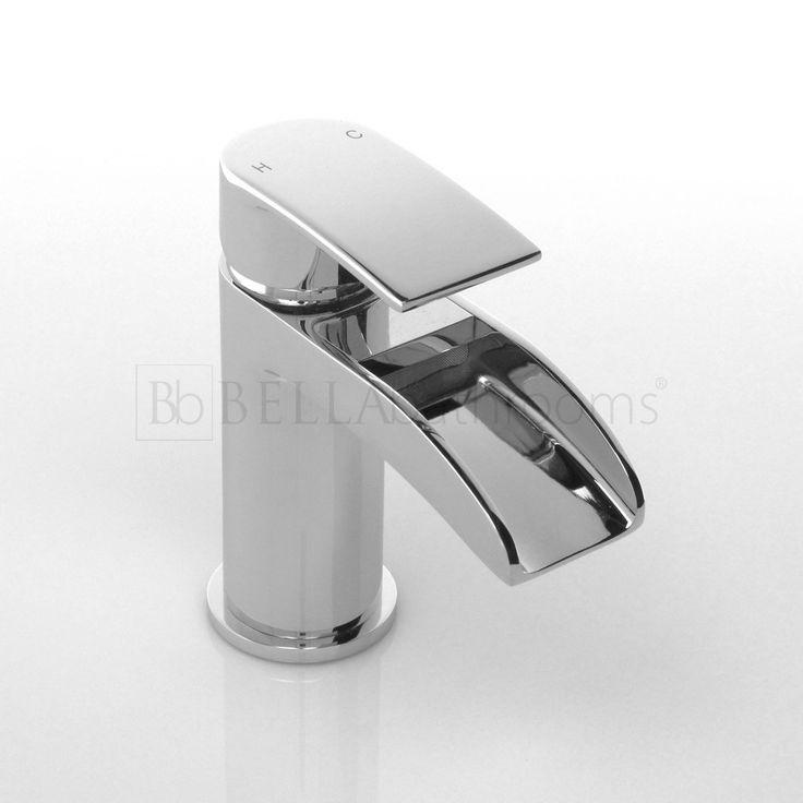 Zenith Halton Waterfall Mono Basin Mixer Tap - Basin Taps - Shop By Tap Type - Bathroom Taps