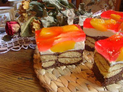 Izioni pyszne smaki: Murzynek z ciastkami