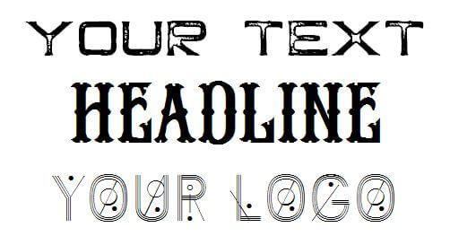 Use Special Fonts in Blender 3D Software for your website