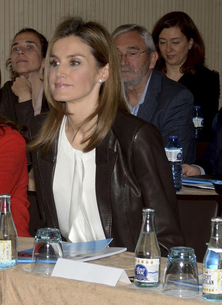 Queen Letizia of Spain Photos Photos - 'Entrepreneurship Education' International Congress - Zimbio