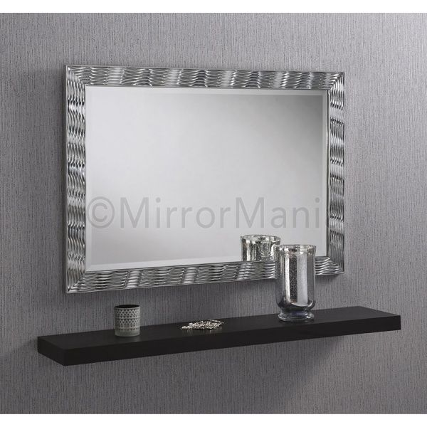 Silver Framed Bathroom Mirrors 109 best bathroom mirrors images on pinterest | bathroom mirrors