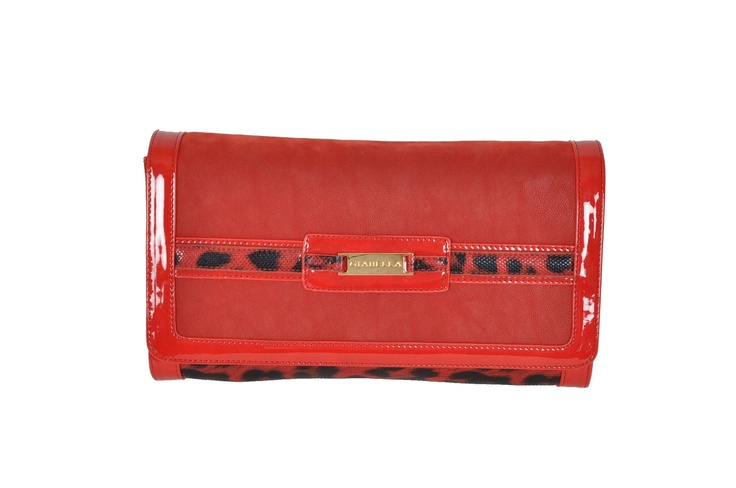 Sarafina by Giabella Clutch in Red